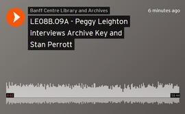 Peggy Leighton interviews Archive Key and Stan Perrott