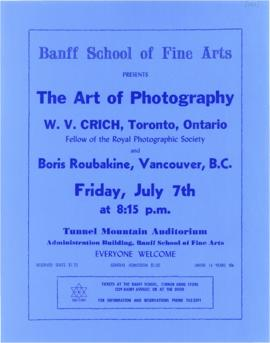 "SF 423 - ""The Art of Photography"" : [poster]"