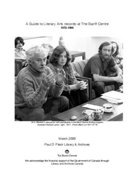 Banff Centre Literary Arts fonds