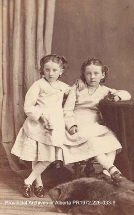 Portrait of Winnie and Annie McKitrick