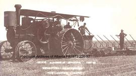35 HP Nichols A. Shepard Engine Owned By J.G. Welsh, New Dayton, Alberta