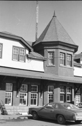Canadian Pacific Railway Station, Red Deer