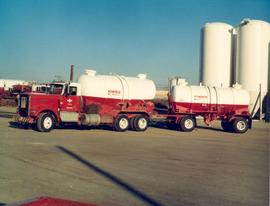Oil well service truck, Red Deer
