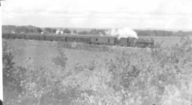 A passenger train, Red Deer