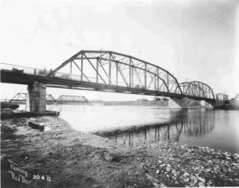 Bridges across the Red Deer River