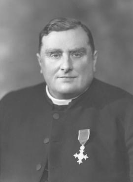 The Reverend Canon Charles Fry, M.B.E.