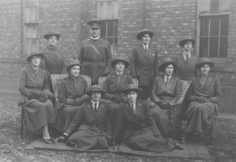 Image result for women's volunteer reserve
