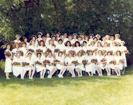 Nursing graduates, Red Deer