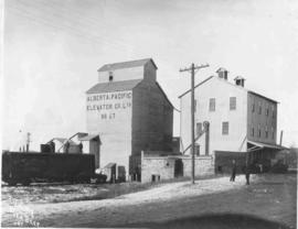 Red Deer Flour Mill and Alberta-Pacific Elevator