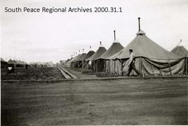 Alaska Highway Construction Camp, Ft. St. John