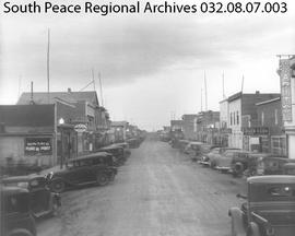 Richmond Avenue, Grande Prairie, Alberta.