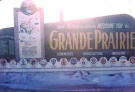 City of Grande Prairie Welcome Sign