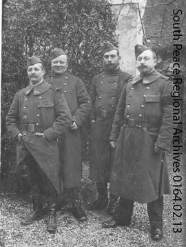 Four French Officers