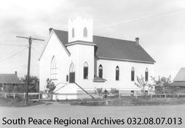 St. Paul's United Church, Grande Prairie, Alberta.