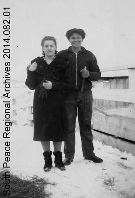 Ethel Foote and Ray Rappel