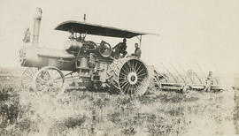 """Plowing with the steam engine"""