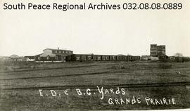 Edmonton, Dunvegan, and British Columbia Railway Yards, Grande Prairie