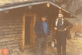 Ed Moberly at his Cabin