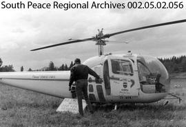 Alberta Forest Services Helicopter