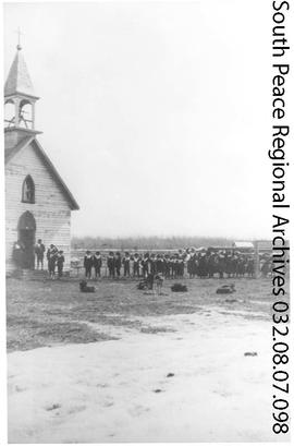 Sturgeon Lake Mission and Residential School, Alberta.