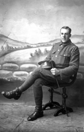 Charles Buck in Uniform