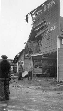 Livery Barn After the Blast