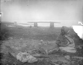 Inuit Woman at Work