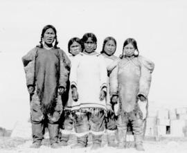 A group of Inuit women- Pond Inlet