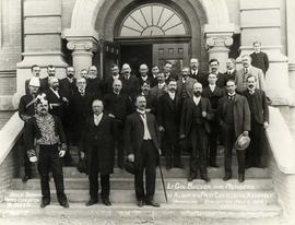 Members of the first Alberta legislature, Edmonton, Alberta.