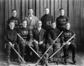 Calgary Normal School hockey team