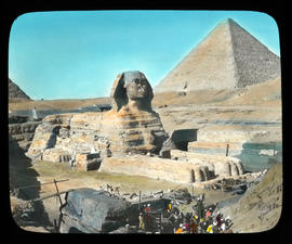 Cairo- Sphinx and Pyramid
