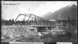 211_. Sanitarium and Bow River Bridge, Banff