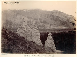 """Hoodoos"" or Natural Monuments, Banff"