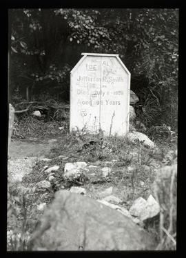 Soapy Smith's grave, Skagway