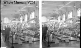 Monaco trip, interior of museum (France?), stereo