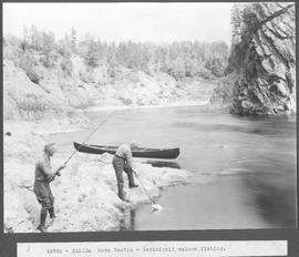 Canada. Nova Scotia. Nepisiquit salmon fishing / 49726