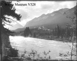 11. Bow River and C.P.R. Hotel, Banff