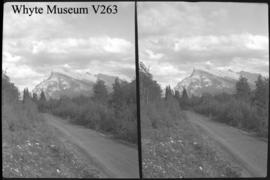 Mt. Rundle, stereo