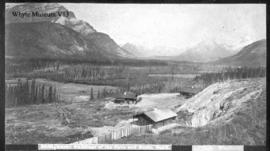 3088. Rustic buildings of the Cave and Basin, Banff