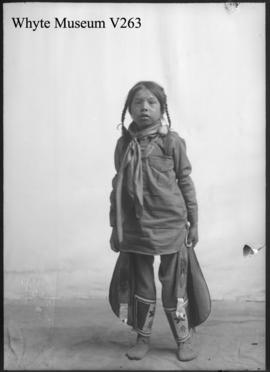 Indian child : [Stoney Indian]