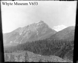 Banff. Cascade Mtn. from band stand (No.5). 7/4/94
