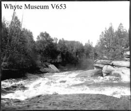 116 Lake St. John. Rapids below Quatchman Falls (No.32). 8/29/95