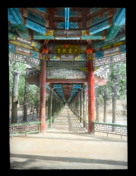 [...]g Corridor of Summer Palace.