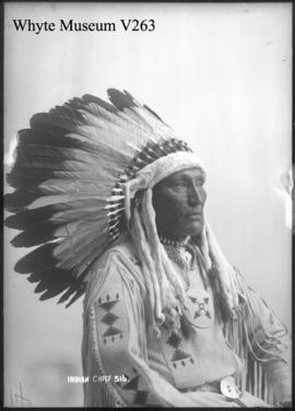 516. Indian chief, William Powderface