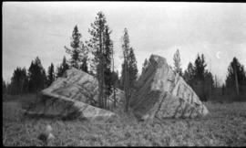 Glacial rock west of Red Deer