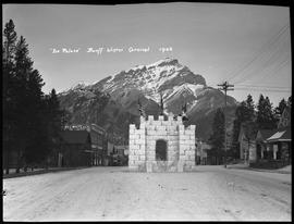 """Ice Palace"", Banff Winter Carnival 1926"