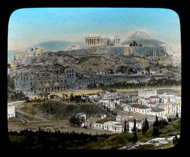 [Acropolis in Athens, Greece.]