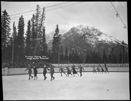 """Calgary Skating Club"", Banff Winter Carnival"